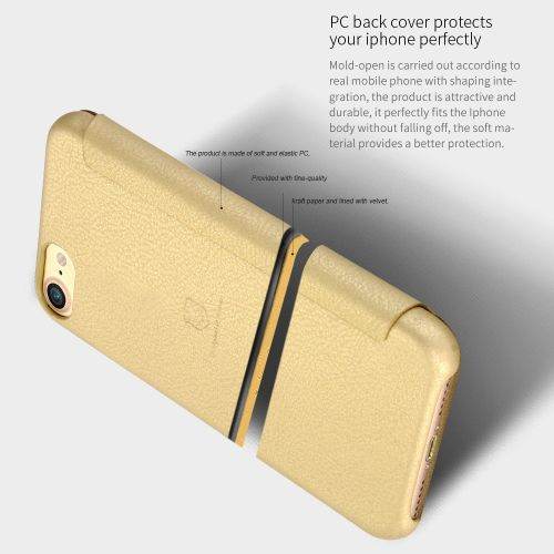 Leaf Magnetic Snap Litchi Texture Flip Leather Case With Card Slots ... - 3