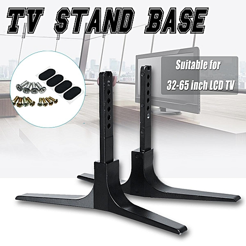 Generic Universal Tv Stand Base Plasma Lcd Flat Screen Table Top