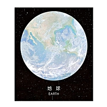 Star Planet Sticky Notes Post It Memo Pad Stationery School  Bookmarks