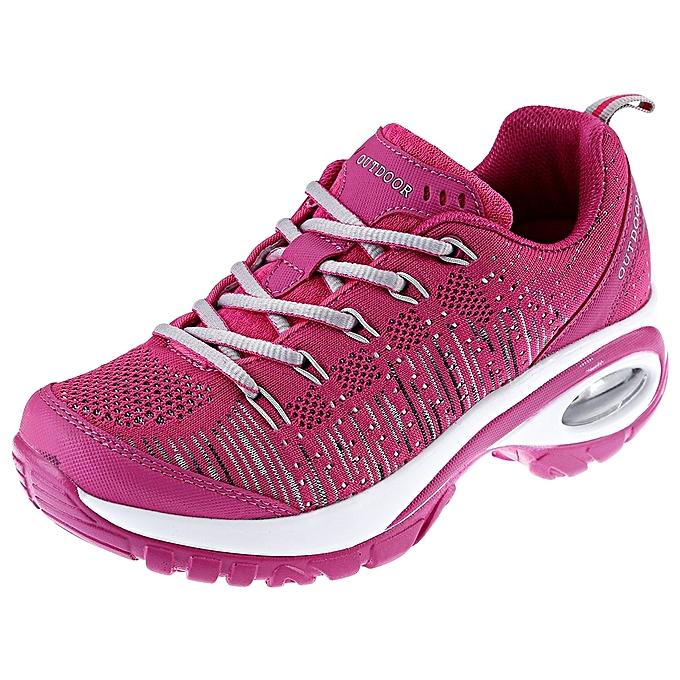fashion stylish ladies breathable sports shoesrose madder