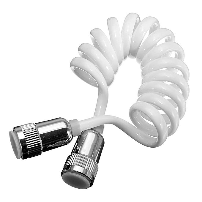 ABS Telephone line Style Spring Flexible Shower Hose for Water Plumbing Toilet Bidet .