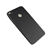 Huawei GR3 2017 Back Cover - Silicone Rubber Finish Black