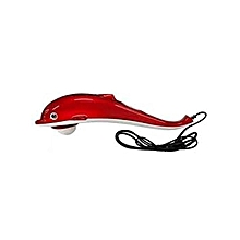 Infrared Dolphin Body Massager (Red)