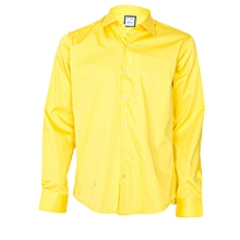 Yellow Shirt With A Yellow Pocket Square