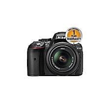 Nikon D5300 Digital SLR Camera with 18-55 mm Lens - 24.2 MP - Black