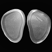 Silicone Gel Ball Foot Cushion Insoles Metatarsal Insert Pad Shoe Transparent