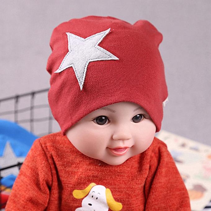 Cute Baby Hats Boys Girls Beanies Cap Cartoon Infant Hat Solid Color Children Head Wear Winte Autumn Child Caps Accessories Gift Mother & Kids Hats & Caps