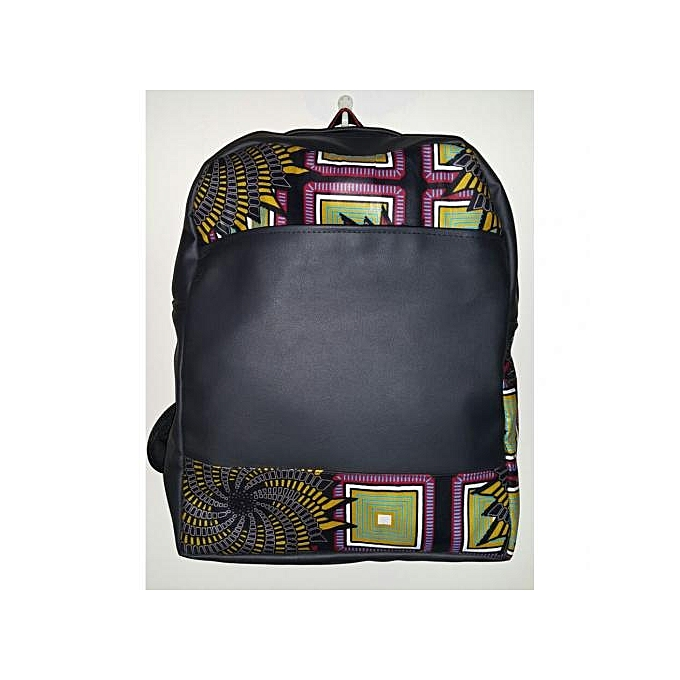 Gym Bag Nairobi: Generic Leather Bag With African Print @ Best Price