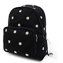 b7c1bdb6740a Women Teenage Girl Boy Solid Zipper Backpack School Bags Fashion Shoulder  Bag