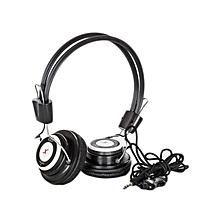 Stereo Headphones - Black