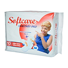Sanitary pad - Ultra Thin - Ultra Fine - Count 10
