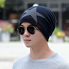 Men Warm Baggy Weave Crochet Winter Wool Knit Ski Beanie Caps Hat