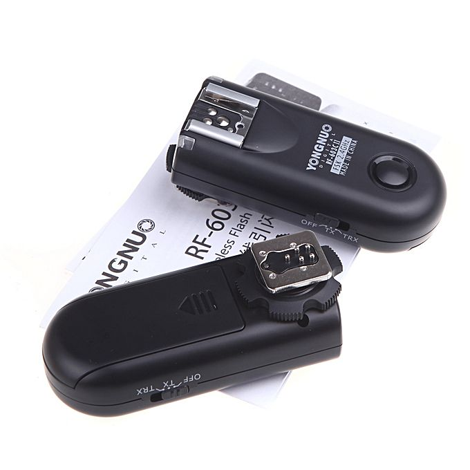 Generic Yongnuo RF 603C II Wireless Remote Flash Trigger
