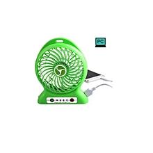 Mini rechargeable fan with inbuilt powerbank