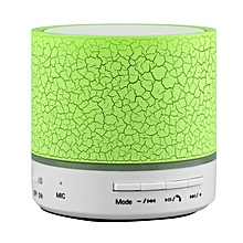 A9 Mini Wireless Bluetooth Round Speaker - Green