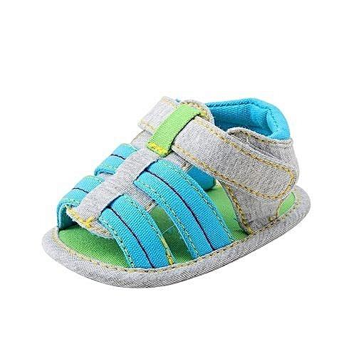7ef9a5592 YiQu bluerdream-Baby Infant Kids Girl Boys Soft Sole Crib Toddler ...