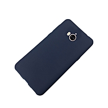 Huawei Y5 2017 Back Cover - Silicone Rubber Finish Blue