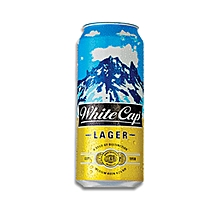 White Cap 500ml (24 Pack)