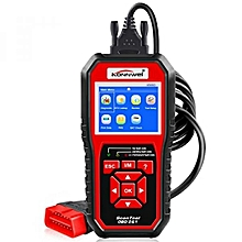 OBDII Auto Diagnostic Code Scanner KW850 Universal Vehicle Engine System Scanner OBD2 EOBD Scanners Tool Check Engine Light Code Reader for all OBD II Cars Since 1996【2018 Upgraded Version】 LBQ