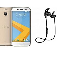 "10 Evo - 5.5"" - 32 GB - 3 GB RAM - 16MP Camera - Single SIM - 4G/LTE - Gold with Free wireless Bluetooth Earphone"