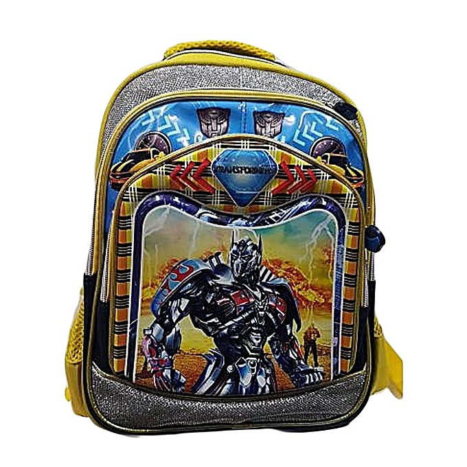 Generic Batman Cartoon Kids School Bag   Best Price