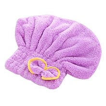 Home-Quick-drying Hair Drying Hat Head Wrap Cap Bathing Super Absorbent Shower Cap