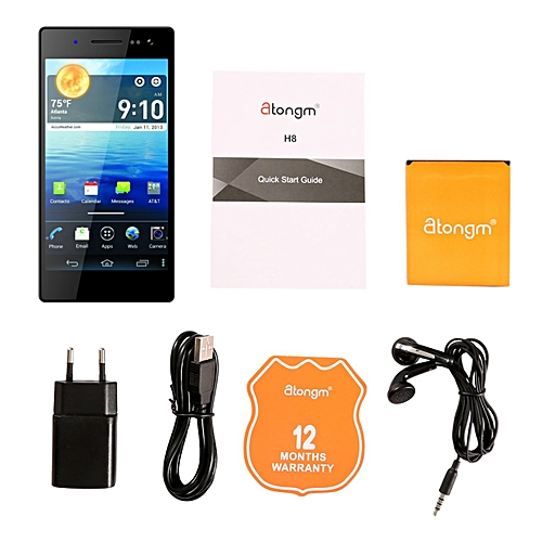 G501 5.0 Inch 1080*1920 HD Display MTK6592 Octa Core Android Phone-black