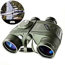 Telescope Binocular Waterproof HD With Compass Rangefinder