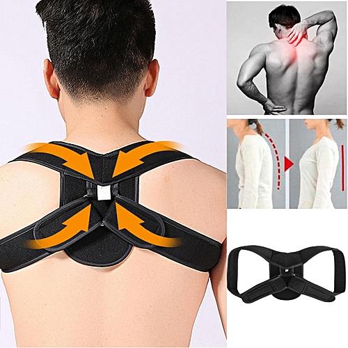 Posture Corrector Back Shoulder Band Brace Belt Strap Adjustable Vest Men Women Size M