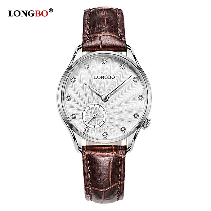 Men's Watches Lovers High-quality Brand New Beneficial Blue Face Couple Belt Watch Alloy Case Synthetic Leather Analog Watch