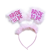 Bride to be Booper - 1 Piece - Pink