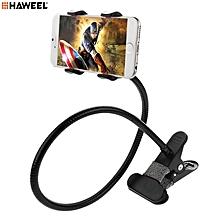 HAWEEL HWL-6410 Universal 360° Rotation X-type Clip Goose-neck Lazy Holder Phone Bracket