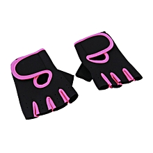 Half Finger Training Gloves Sports Mitts Weightlifting Gloves For Men Women  L
