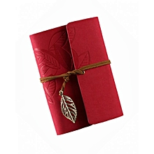 Notebook - 180 Pages - Red