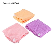 Home-Microfibre After Shower Hair Drying Wrap Towel Quick Dry Hair Hat Cap Turban