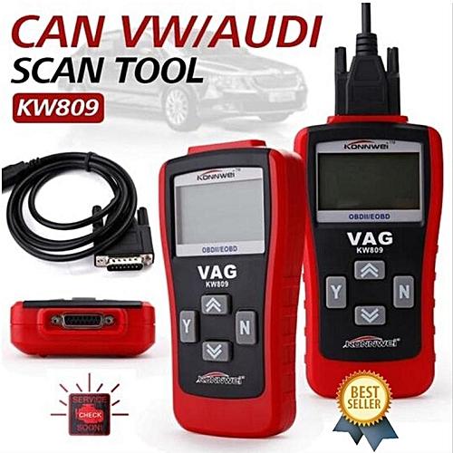 KW809 OBD2 Scanner Car Diagnostic Code Reader CAN Engine Reset Scan Tool LBQ