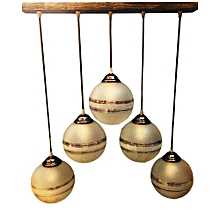 Contemporary 5 pendant dining light fixture