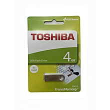 4GB USB Flashdisk-Silver