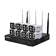 ESCAM WNK803 8CH 720P Wireless NVR Kit Outdoor IR WiFi IP Camera Surveillance Home Security System AU