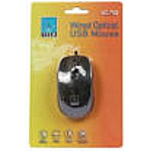 Wired Optical USB Mouse - Black
