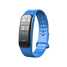 KALOAD Bluetooth Waterproof Smart Bracelet Sport Watch Counter Tracker Pedometer Blue