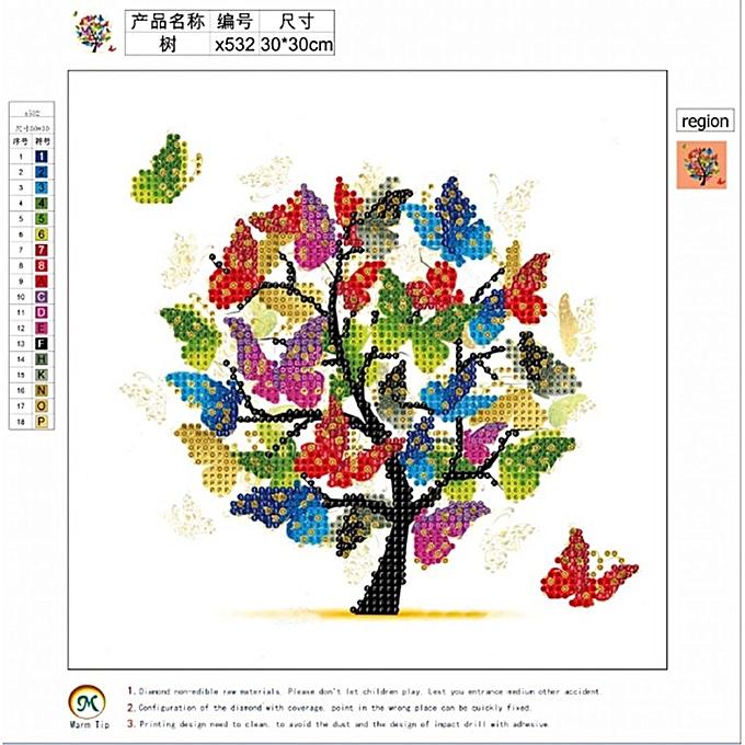 5D DIY Diamond Embroidery Painting Cross Stitch Crafts Decoration  Needlework multicolor