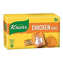 KNORR CHICKEN SOFT CUBE 8.5GX6
