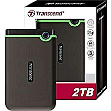 External Hard Drive - 2TB - Black
