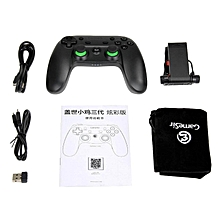 LEBAIQI GameSir G3s Enhanced Edition Wireless Gamepad 2.4GHz Bluetooth 4.0 Connection for iOS/Android/Windows/PS3-Green