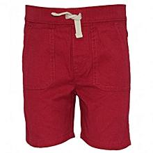 Biking Red Kids Shorts