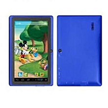 A7-Tablet 7 Inch- Android 6.1-16GB-1GB DDR3-Wi-Fi-4G LTE-Quad Core-Dual Sim-Dual Camera- Blue