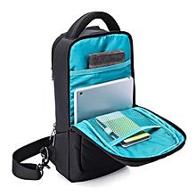 KAKA® Men Nylon Multifunctional Waterproof LightWeight Chest Bag Large Capacity Crossbody Bag