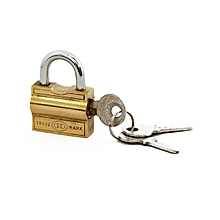 Padlock -  20mm side opening  NO 101  PACK OF 2