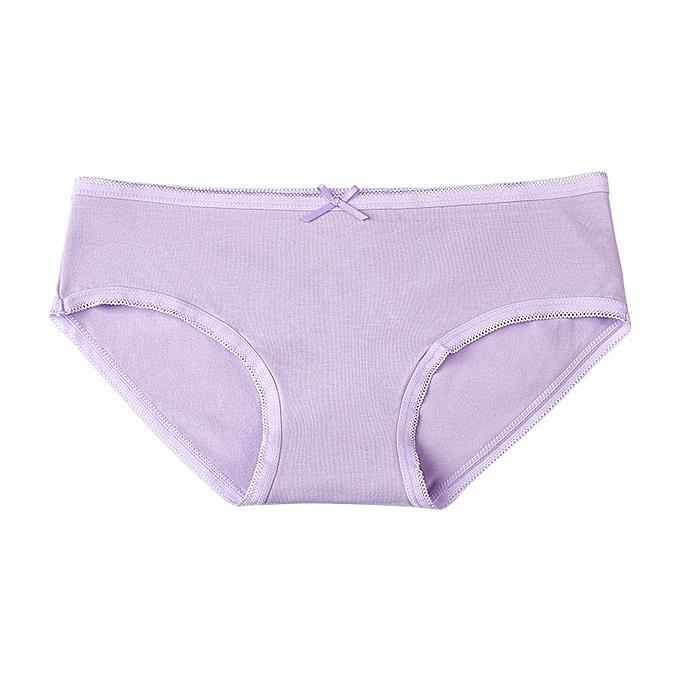 fbbfdfd288e5 Women's underwear cotton mid-rise girls sexy triangle shorts large size  lace seamless underwear-